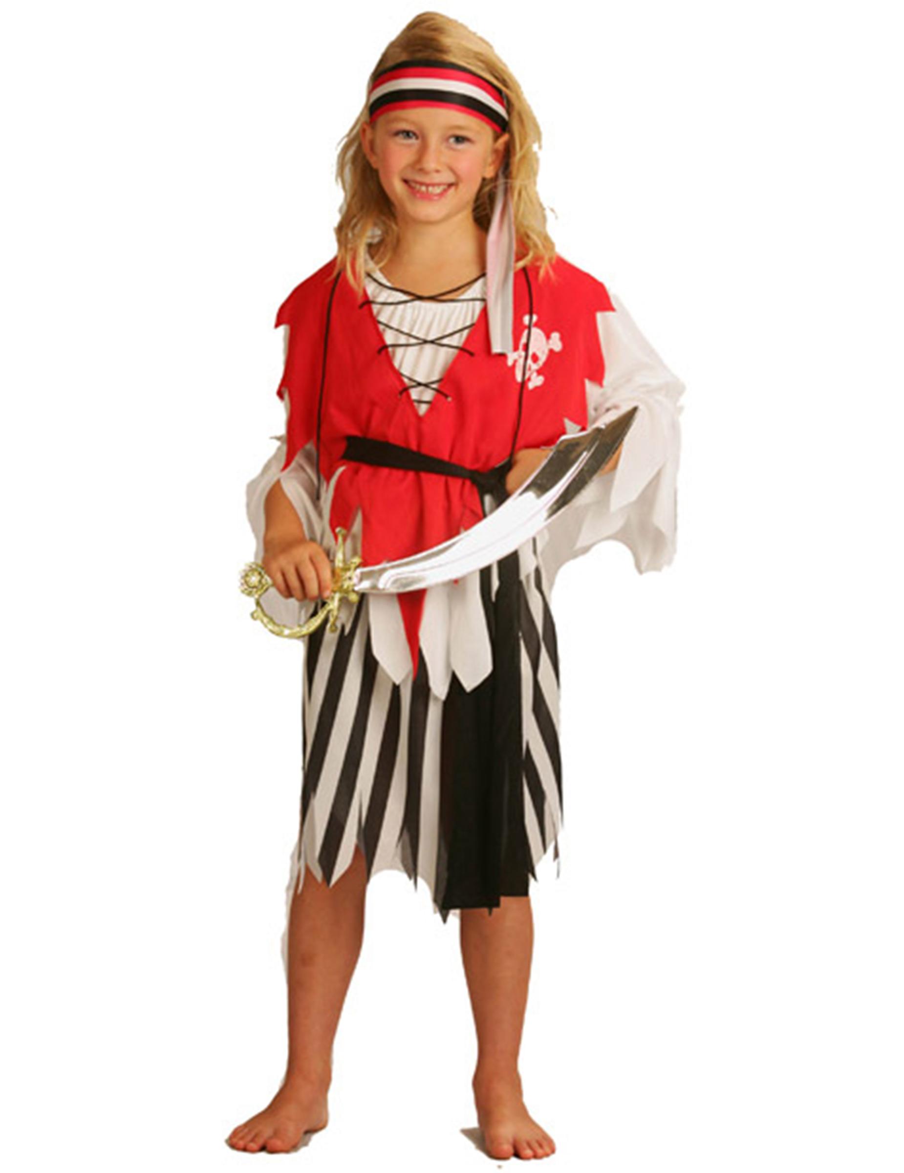 Déguisement pirate fille