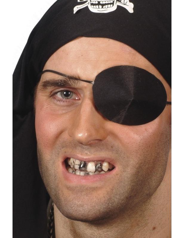 Maquillage noir pour dent adulte