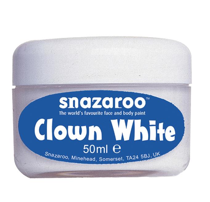 Maquillage clown blanc Snazaroo 50 ml