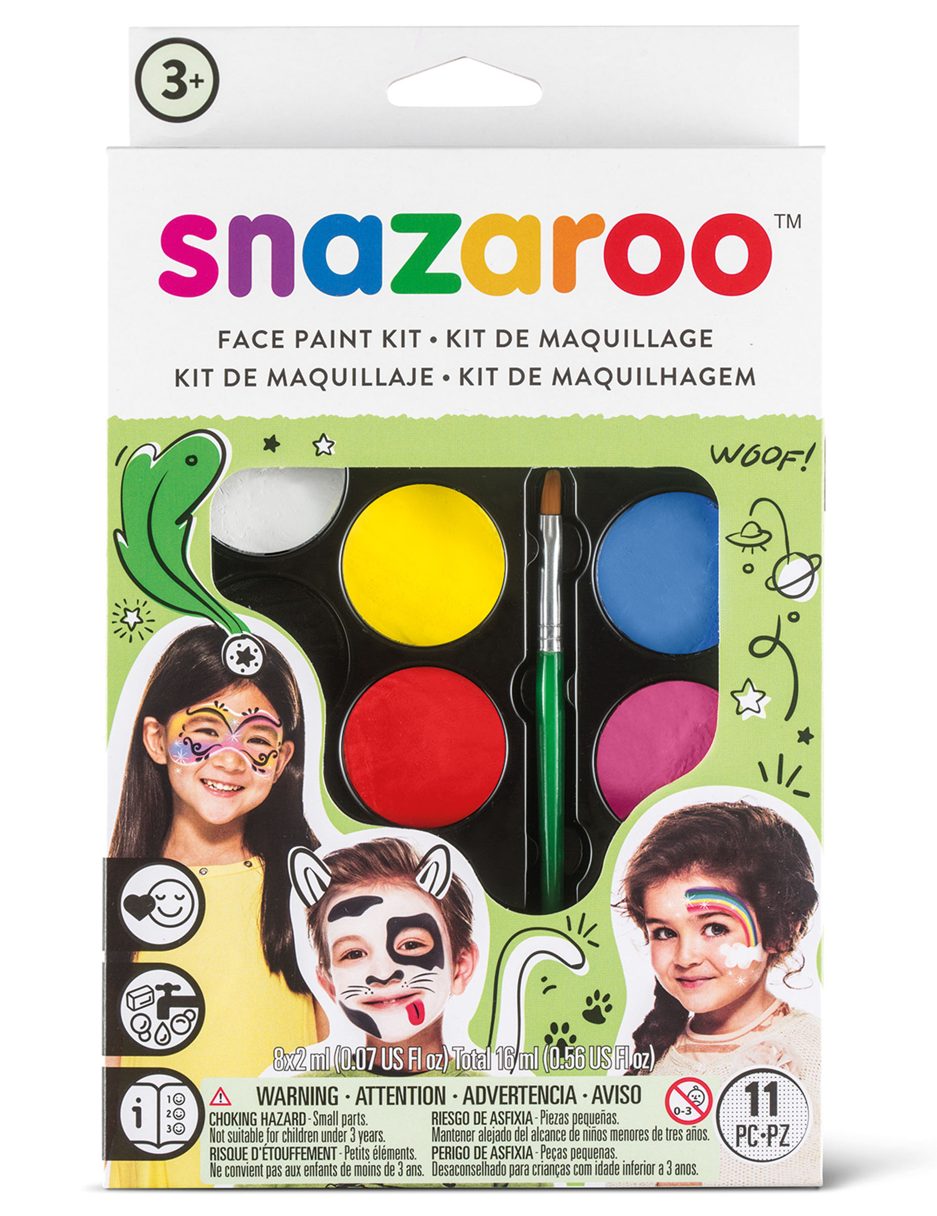 Palette maquillage mixte Snazaroo