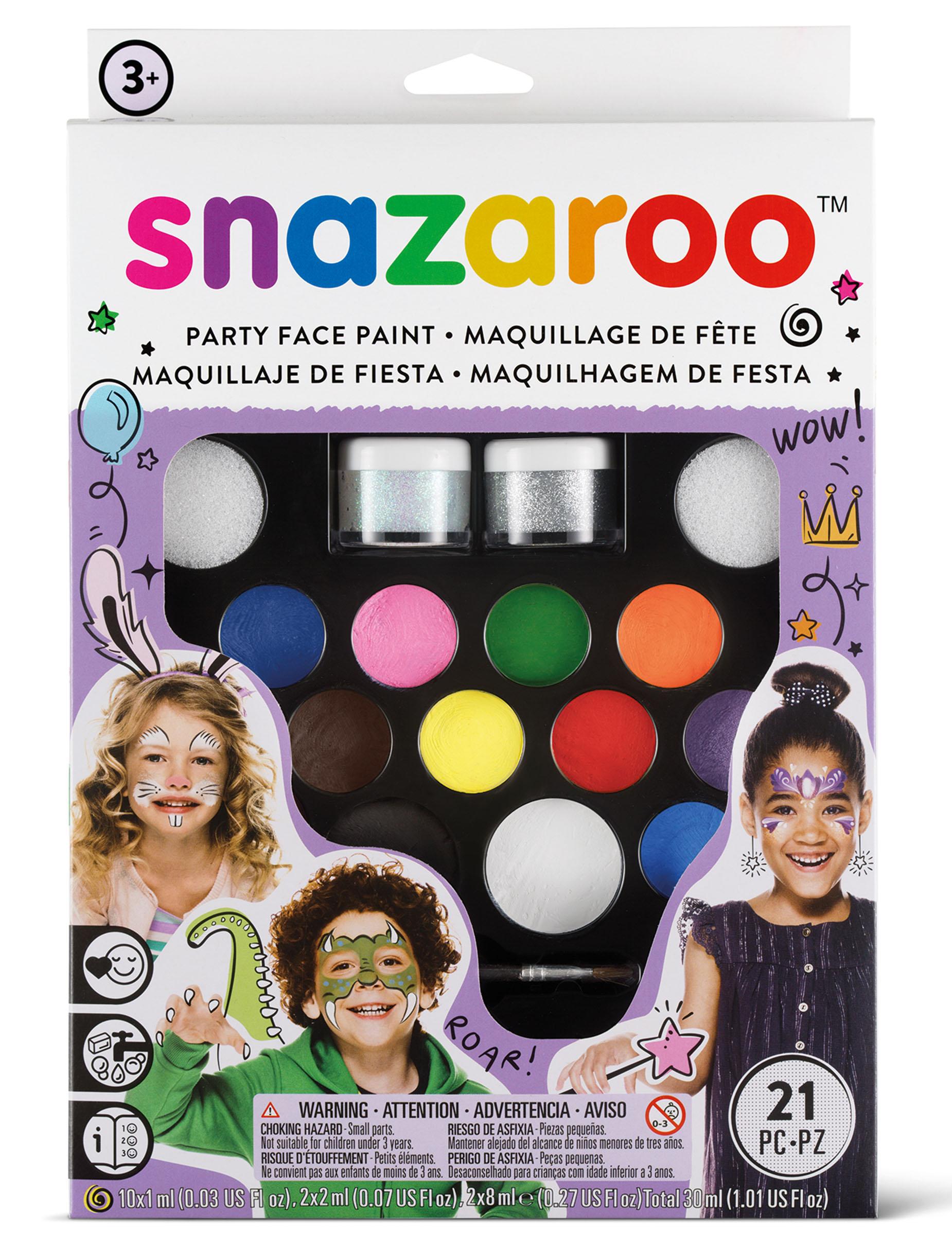 Kit maquillage spécial fêtes Snazaroo