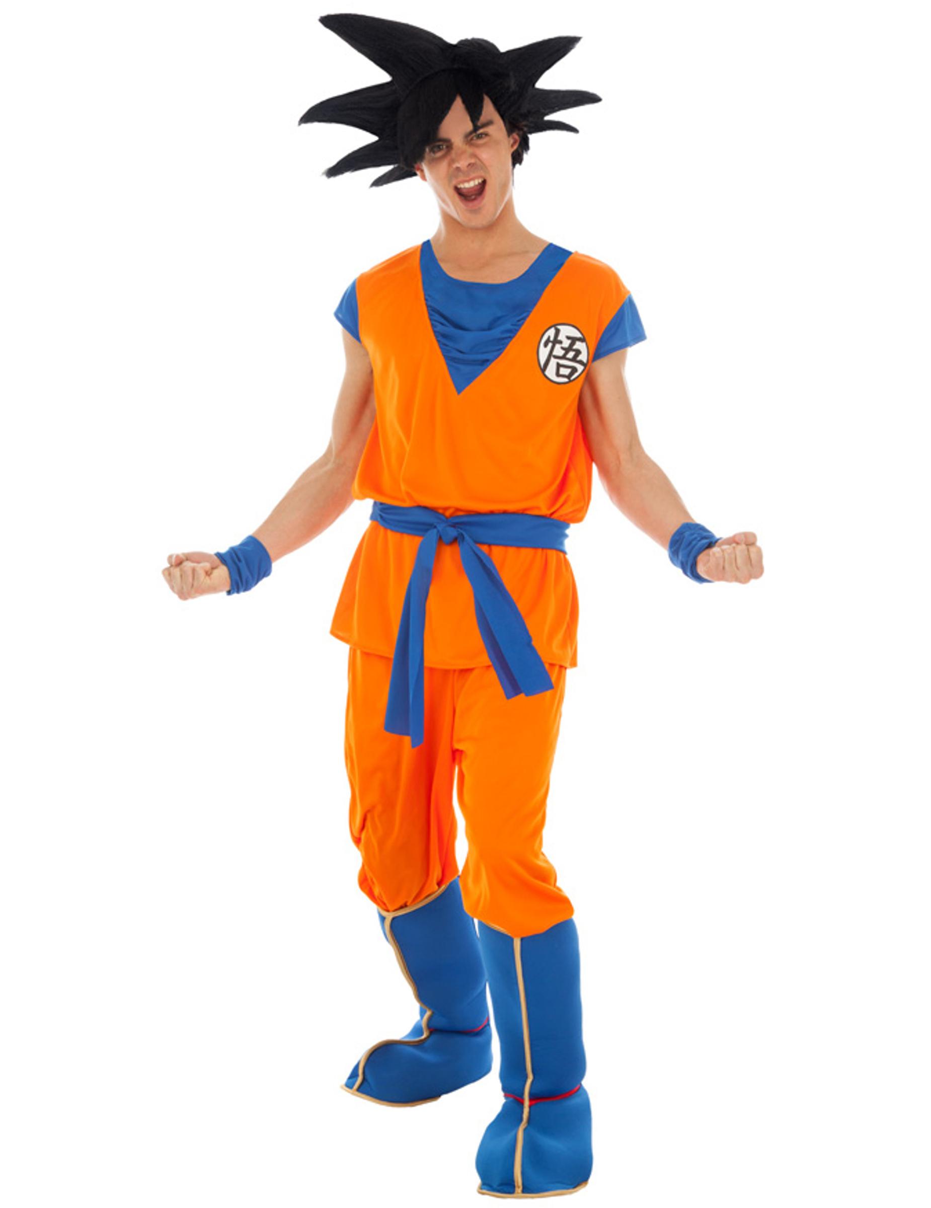 Déguisement Goku Saiyan Dragon ball Z adulte