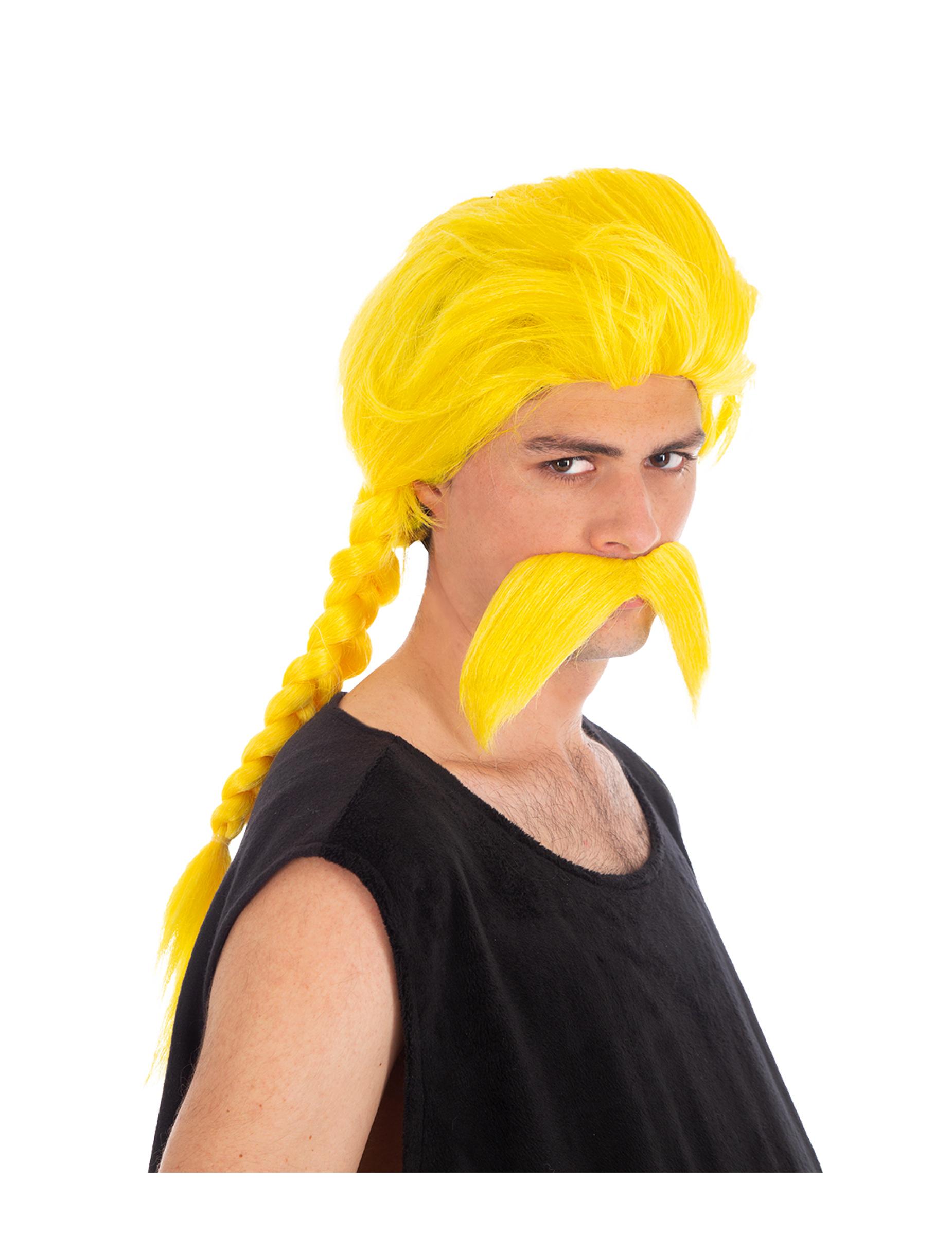 Perruque et moustache Ordralphabétix Astérix et Obélix