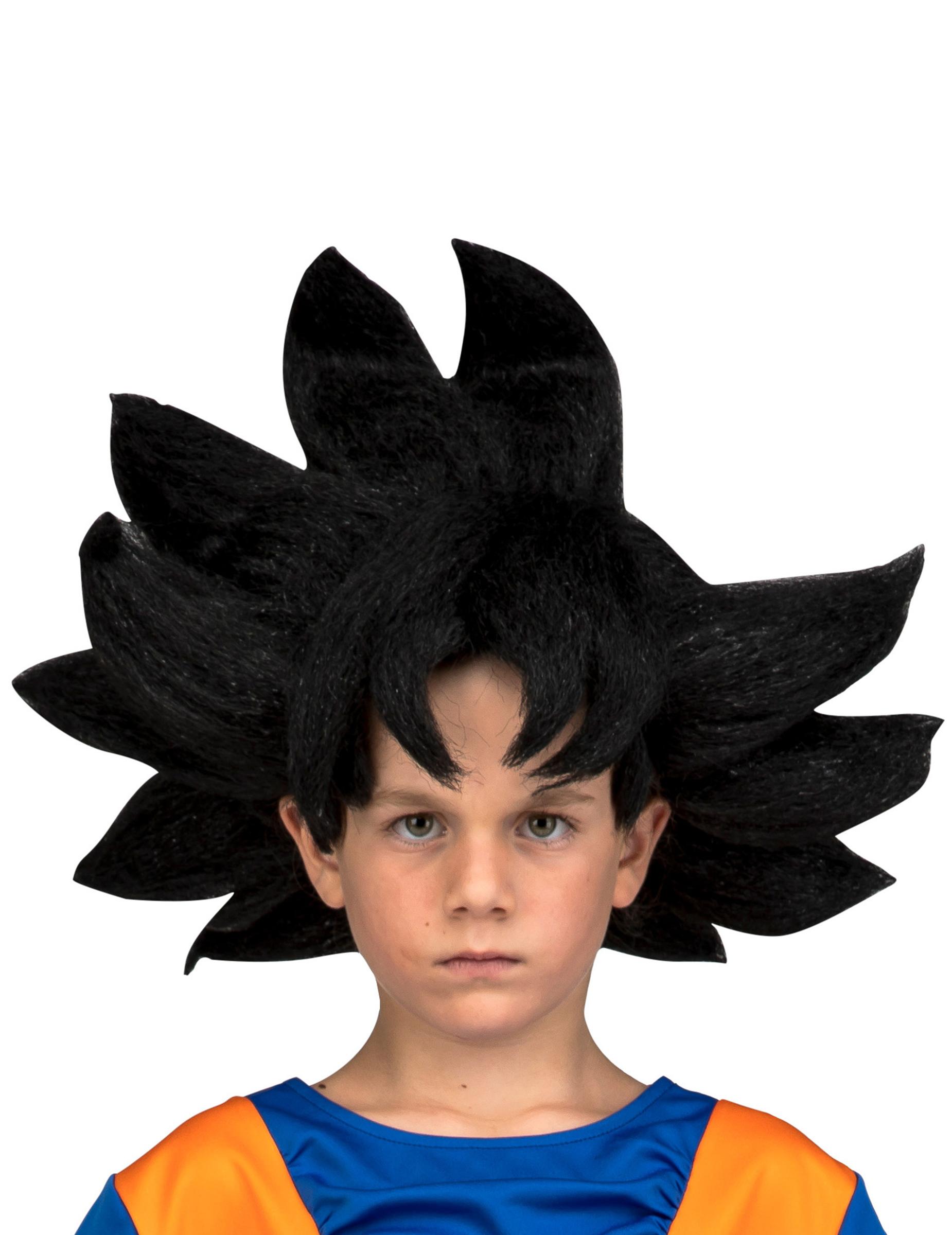 Perruque Goku Dragon Ball enfant