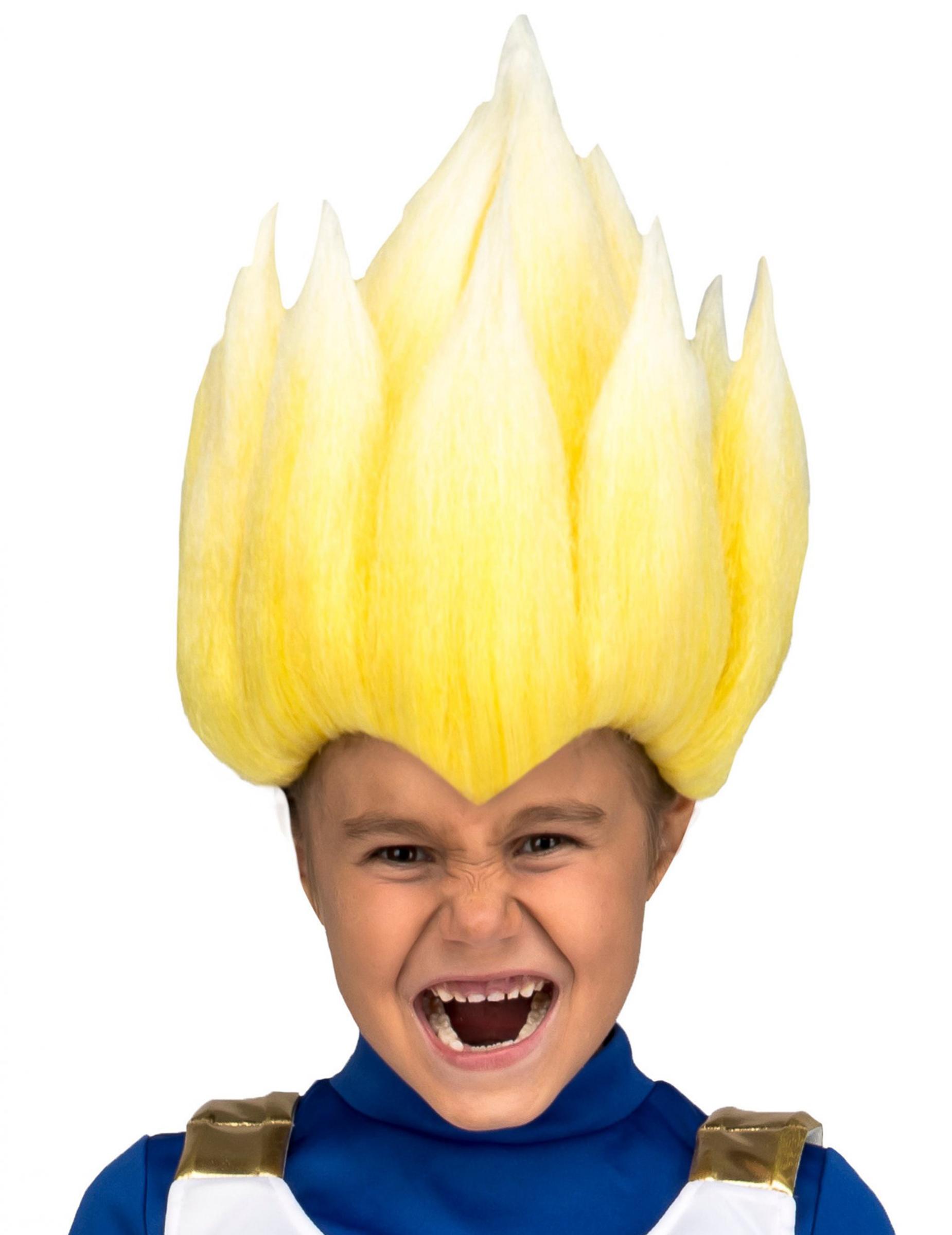 Perruque Super Saiyan Vegeta Dragon Ball enfant