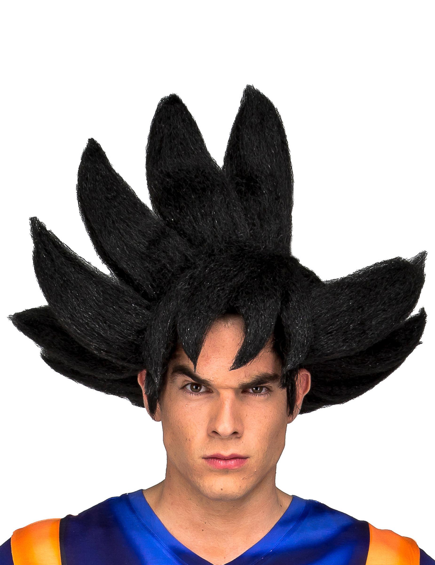 Perruque Goku Dragon Ball adulte