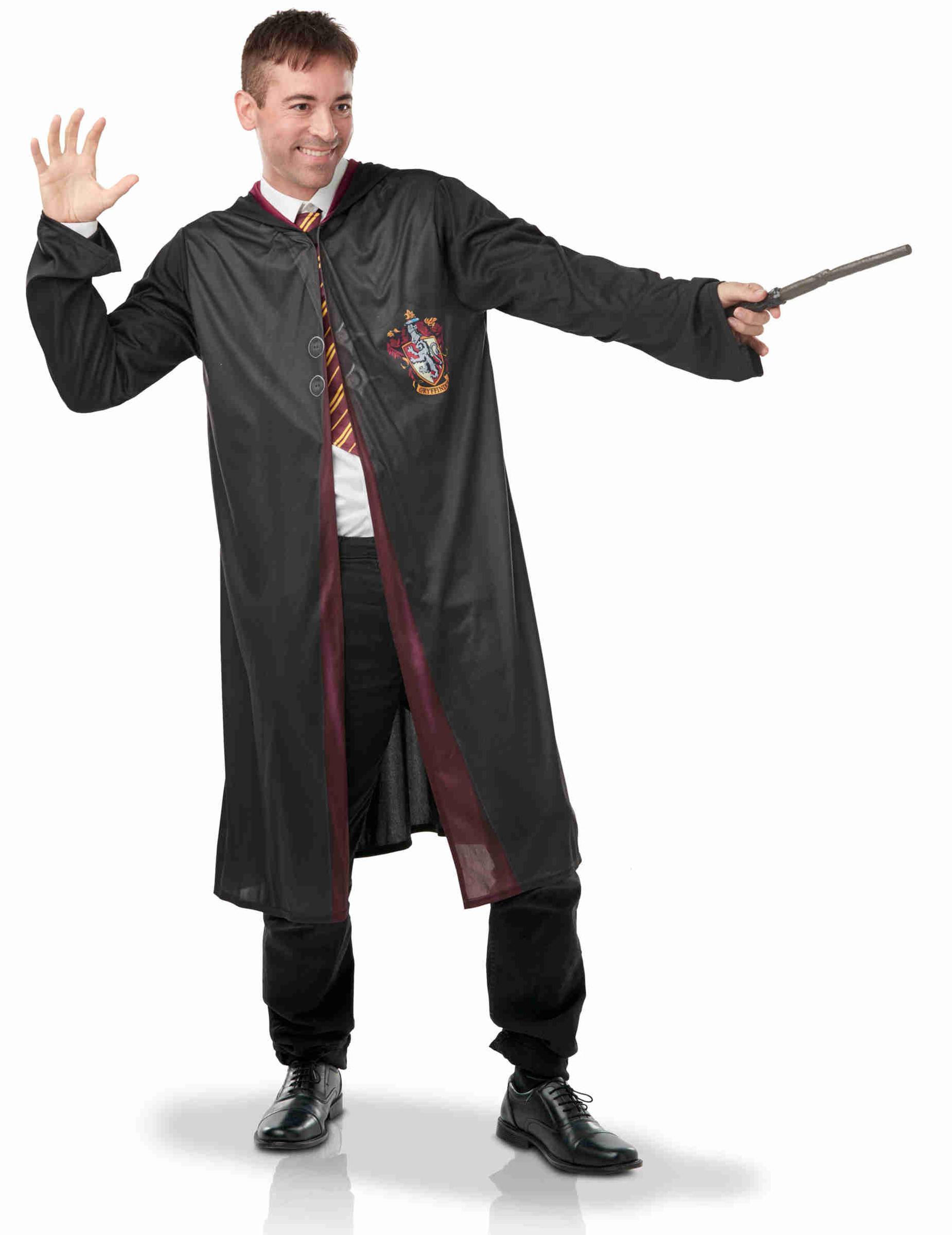Déguisement avec accessoires Harry Potter adulte