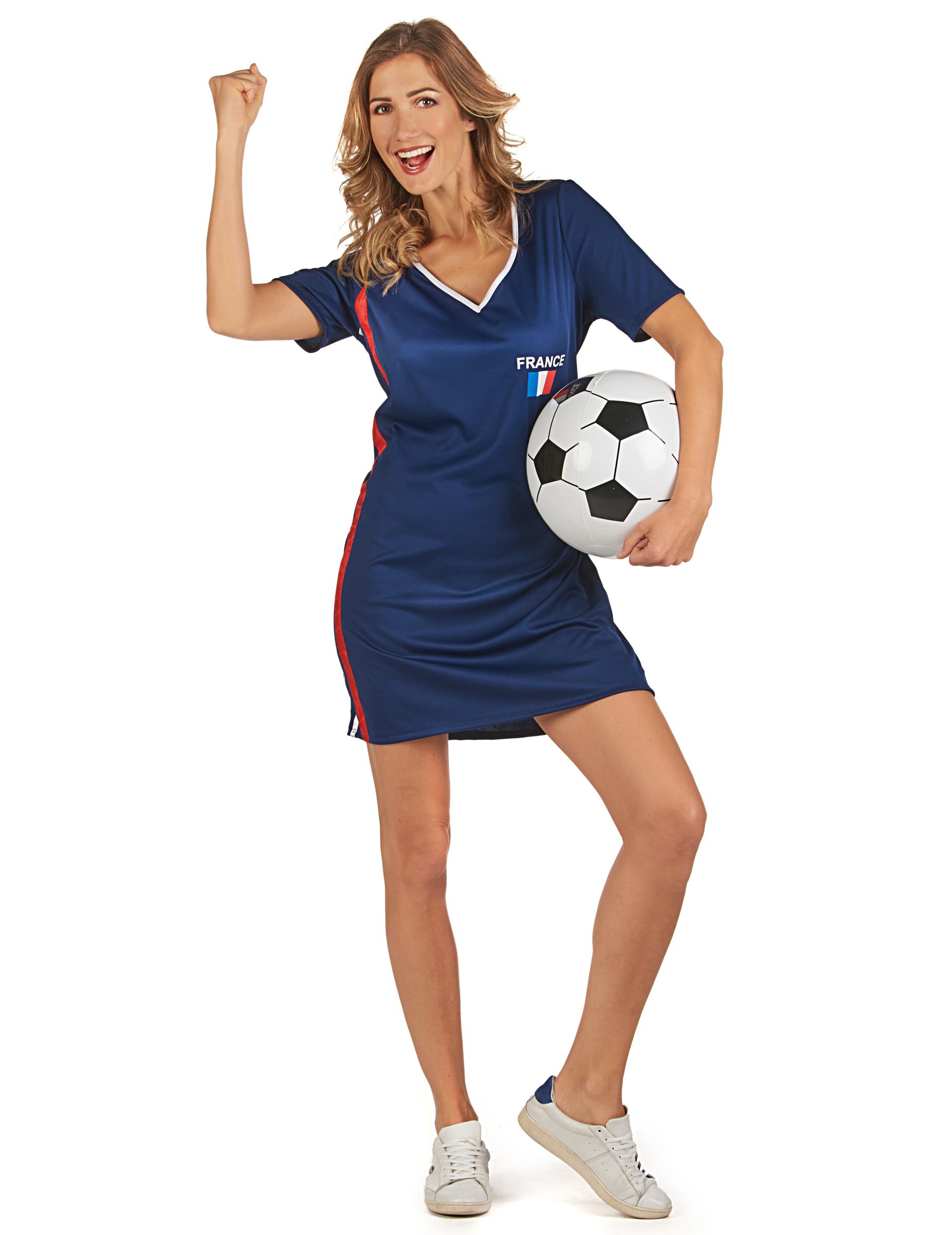 Robe supporter France femme