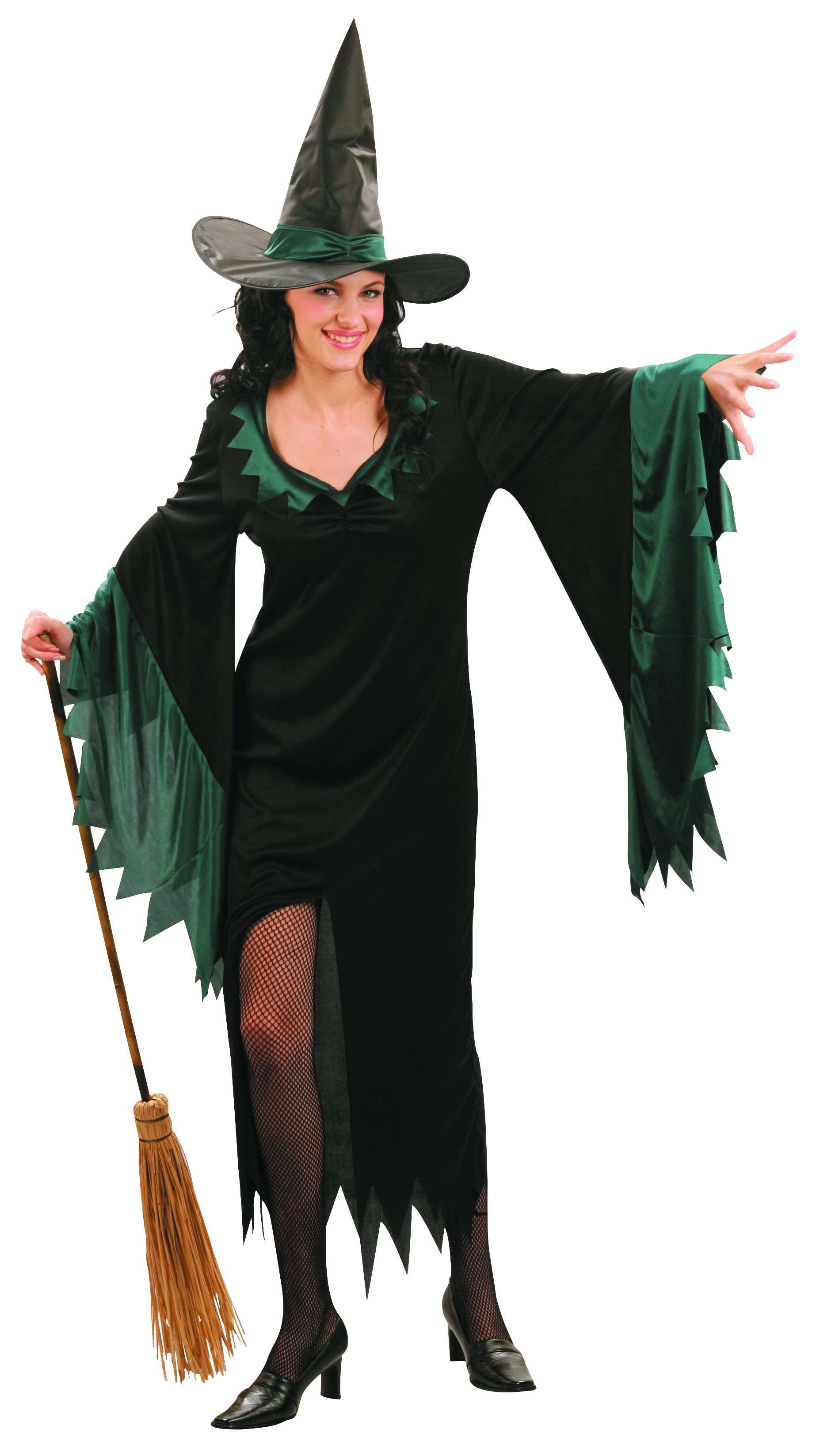 Déguisement sorcière longue femme