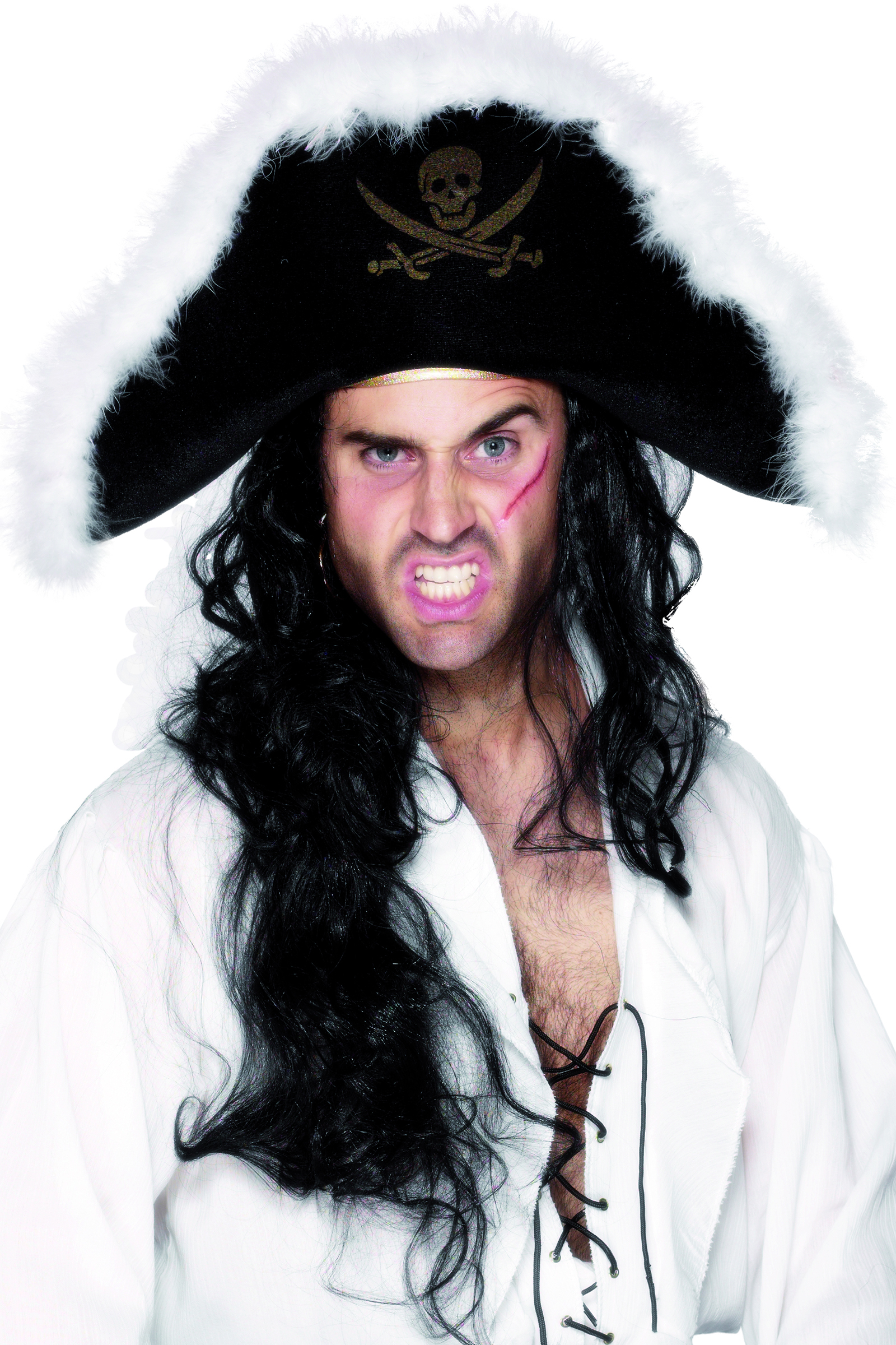 Chapeau de pirate adulte