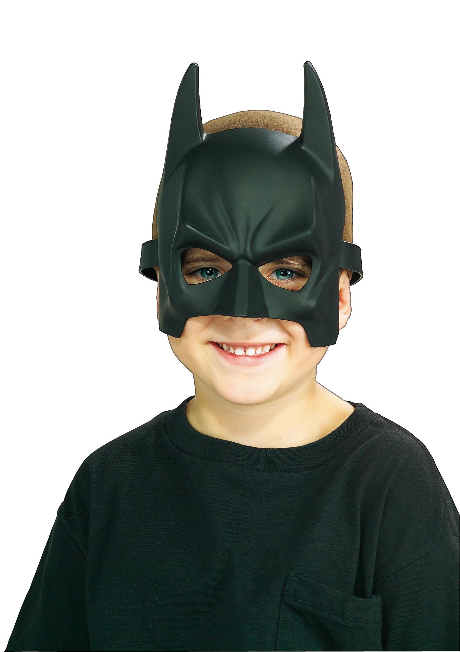 Demi masque PVC Batman enfant