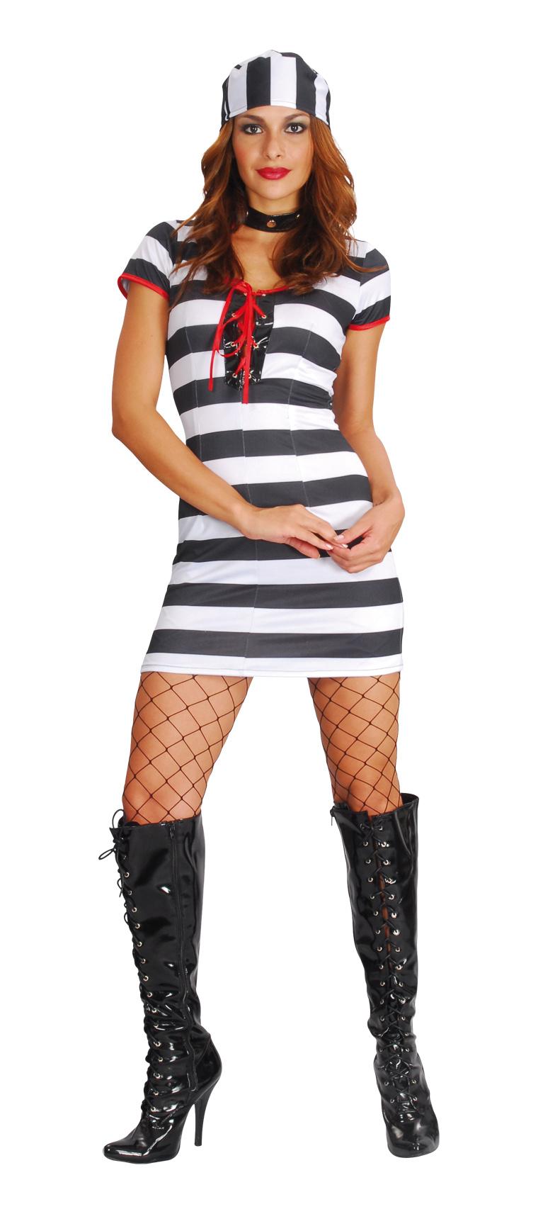 Déguisement prisonnière femme sexy