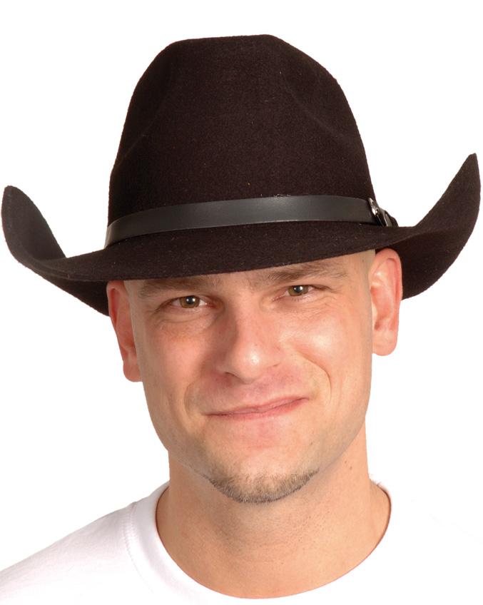 Chapeau Arizona noir cowboy adulte