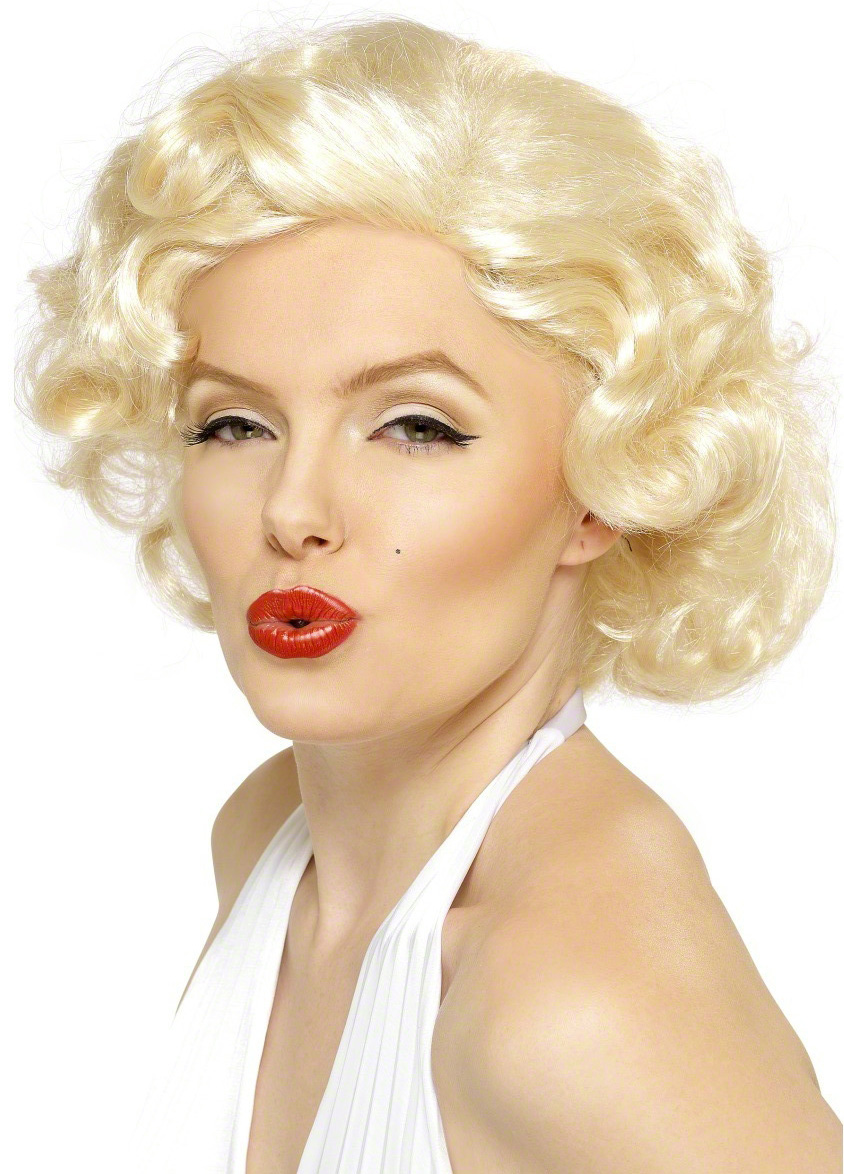 Perruque Marilyn Monroe femme